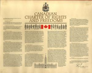 Canadian Charter of Rights and Freedoms (網絡圖片)