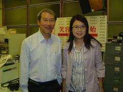 康醫生接受電台訪問(圖:香港電台)