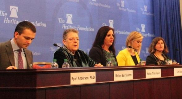女性主義 反對 性別認同