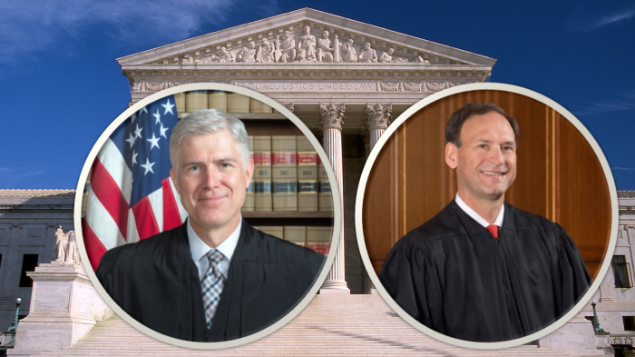 judges gorsuch and alito