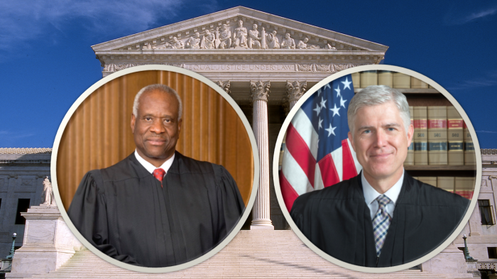 judges thomas and gorsuch